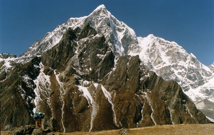 Lobuche peak in Everest region