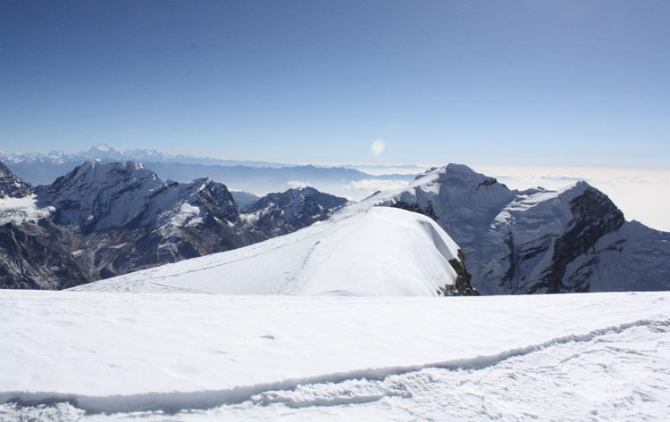 Mera Peak in Everest region